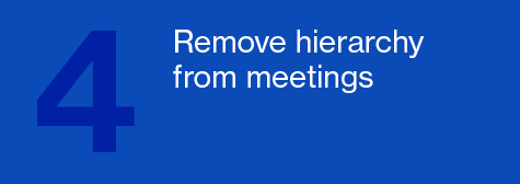 Remove hierarchy from meetings