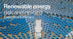 Renewable energy: risk and reward