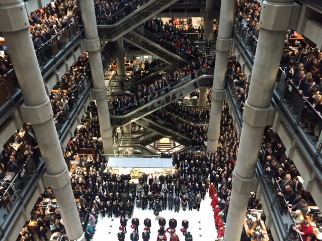 Remembrance Day at Lloyd's