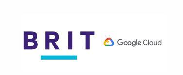 brit logo and google cloud logo