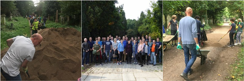 Talbot Underwriting Volunteer at Abney Park