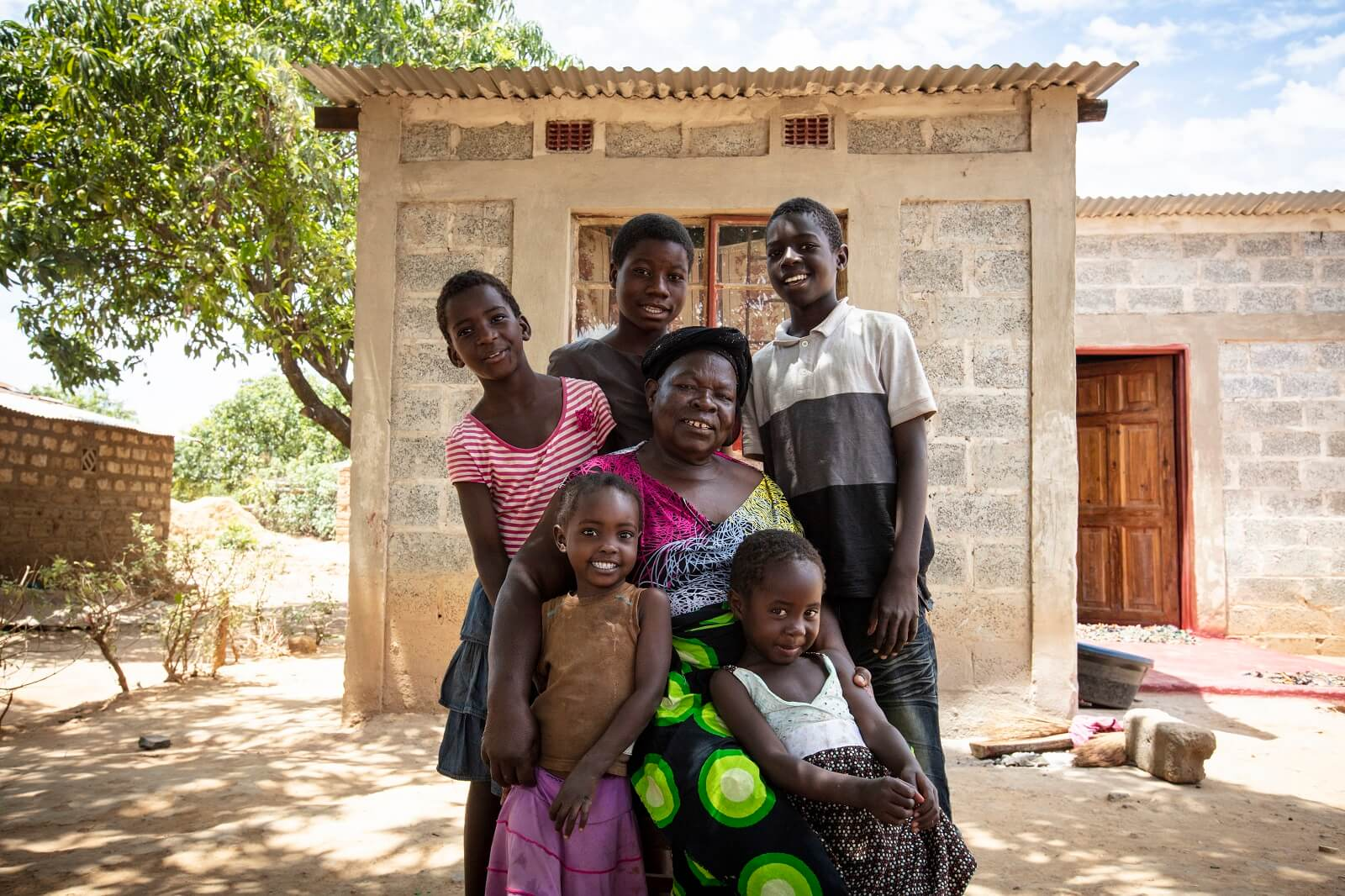 Habitat for Humanity - An example of their disaster proofed homes in Southern Africa