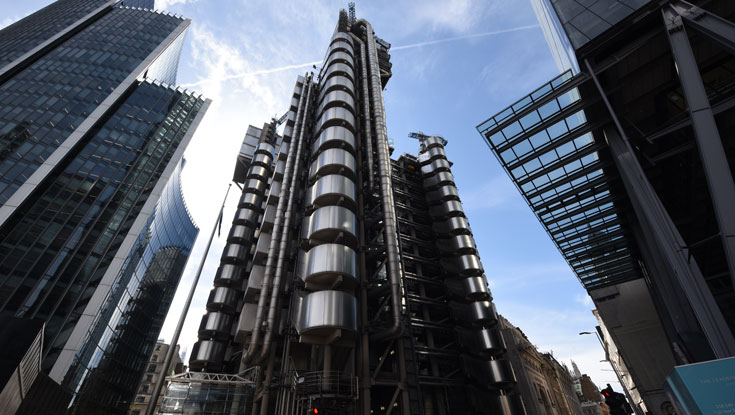 The Lloyd's building landscape