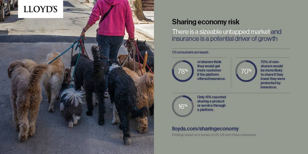Sharing economy risk: There is a sizeable untapped market