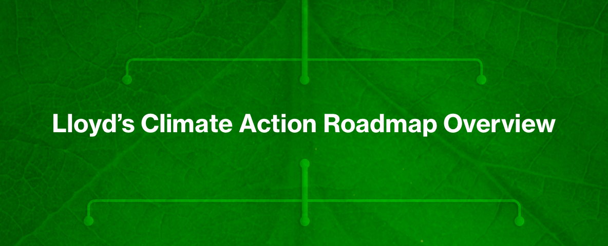 Lloyd's climate roadmap overview